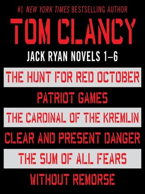 cover image of Jack Ryan, Books 1-6